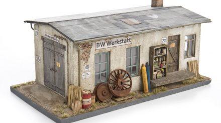 Weathering Factory Eisenbahnerwerkstatt