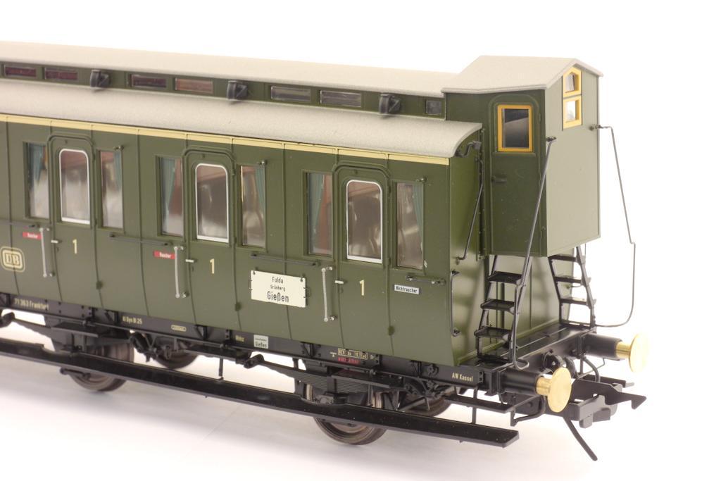 Preußischer Abteilwagen 1. Klasse Inneneinrichtung