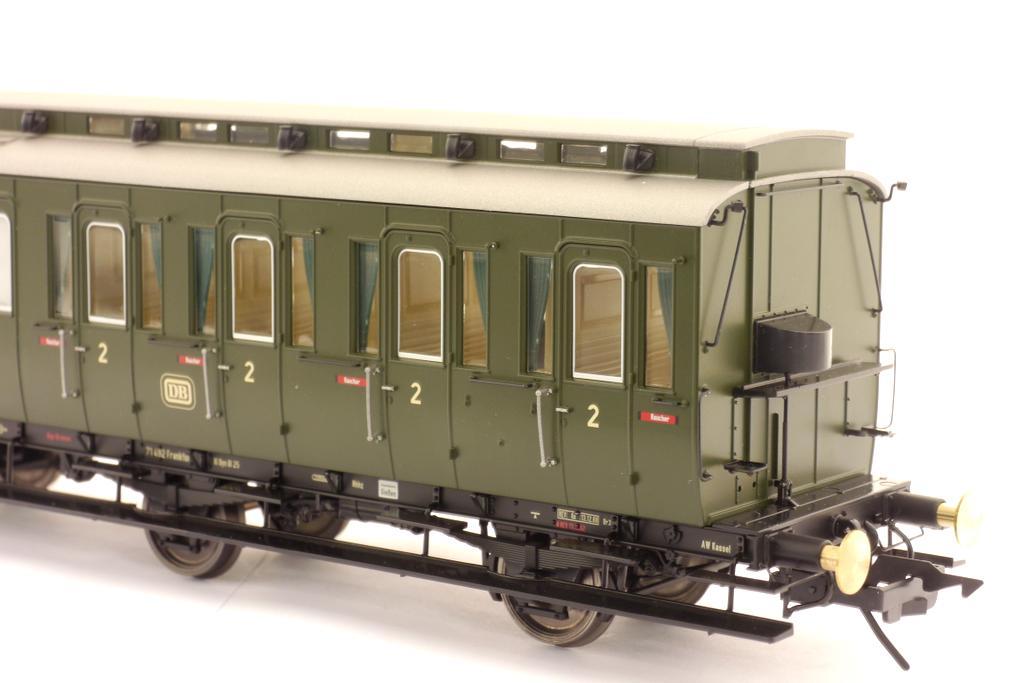 Preußischer Abteilwagen 2. Klasse Inneneinrichtung