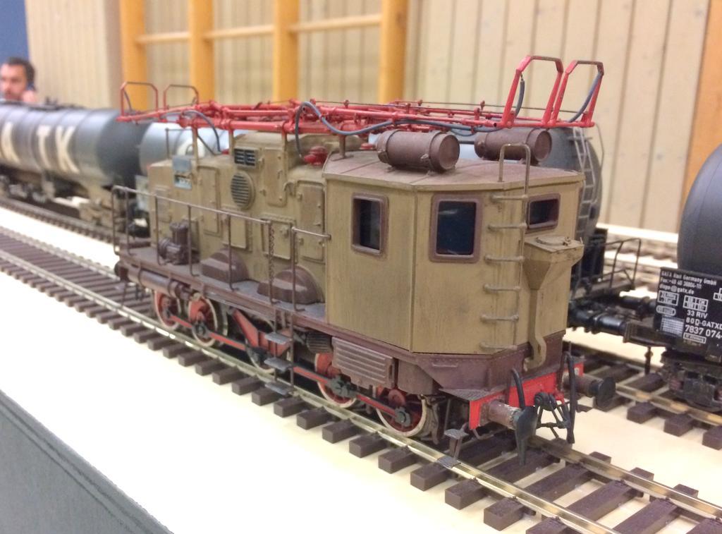 Ellok FS E 552 der Italienischen Staatsbahn