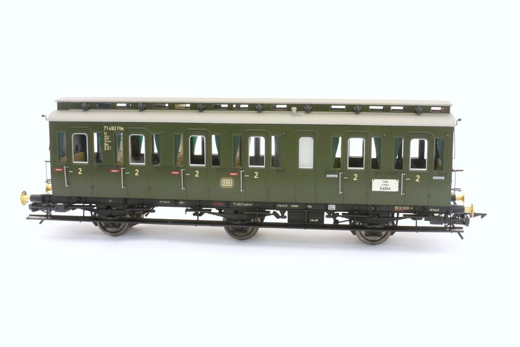 Preußischer Abteilwagen 2. Klasse ohne Bremserhaus