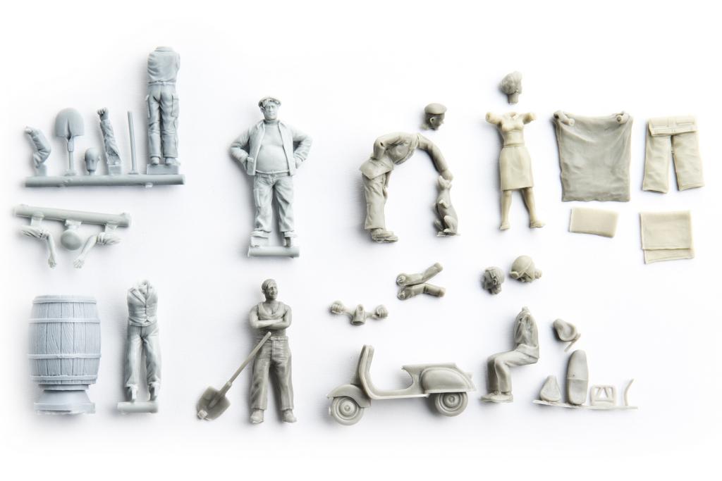 MK 35 Figuren aus Resin
