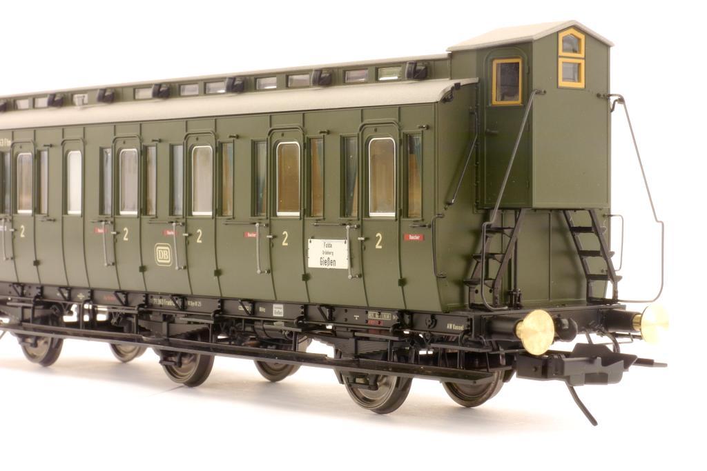 Preußischer Abteilwagen 2. Kl. mit Bremserhaus