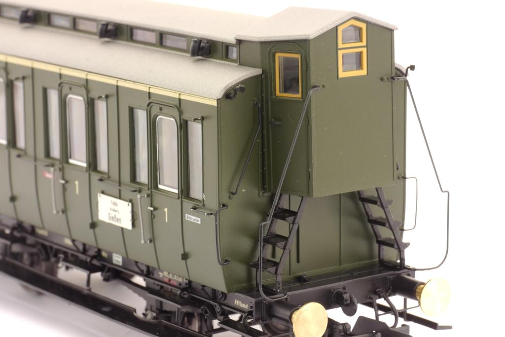 Preußischer Abteilwagen 1. Kl. mit Bremserhaus