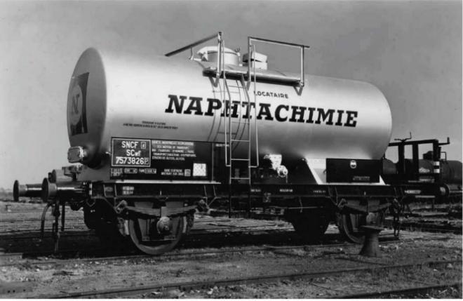 Vorbildfoto Kesselwagen Naphtachimie