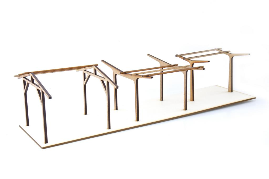 Zapf Bahnsteig-Dachstützen