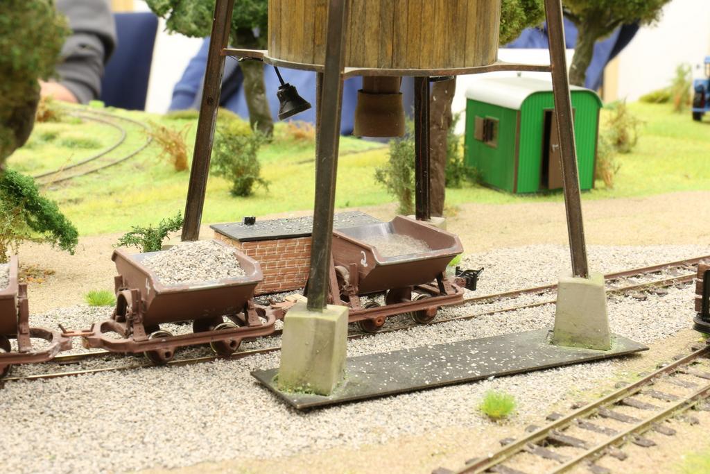 Feldbahn 1 Siloverladung