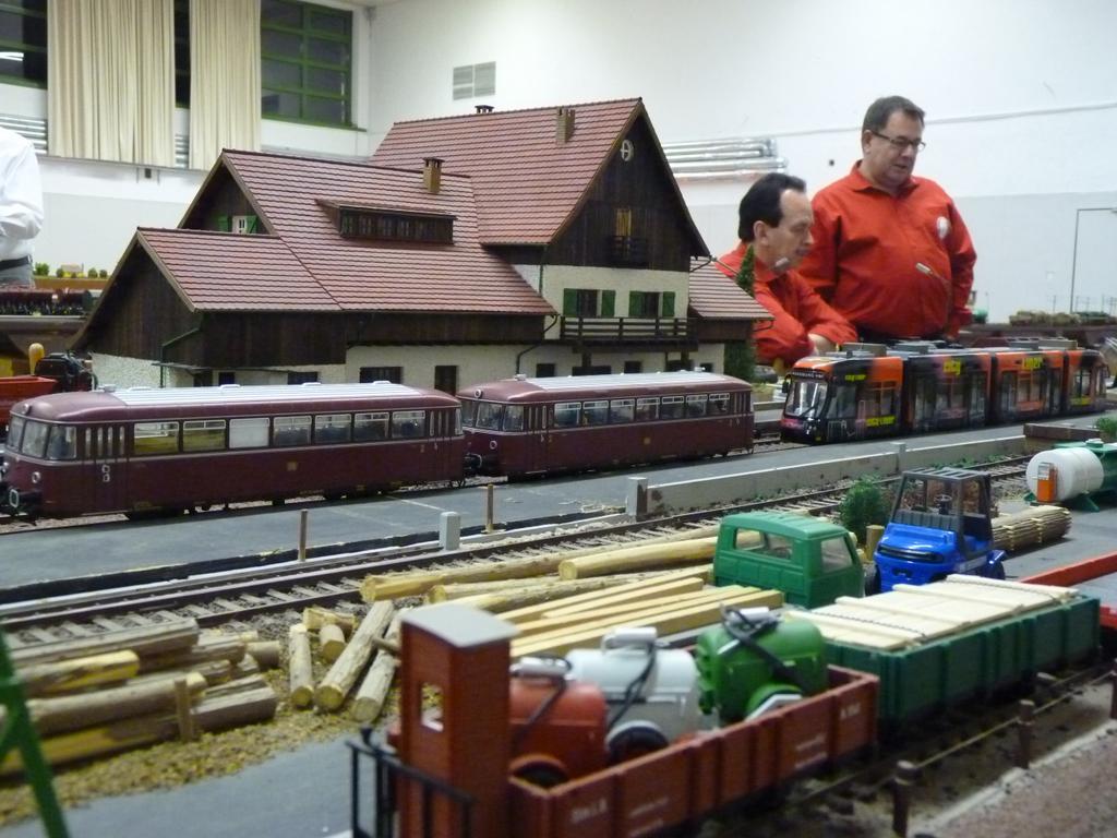 Regionaltreffen Arge Spur 0 in Ingolstadt - Bahnhof