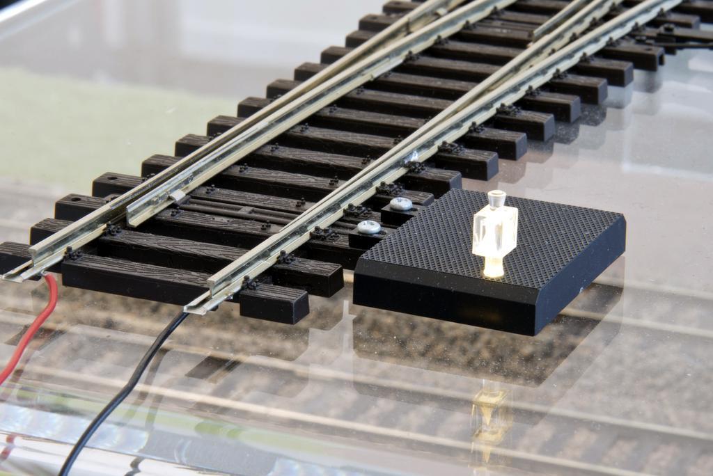 Elektrischer Antrieb mit beleuchteter Weichenlaterne