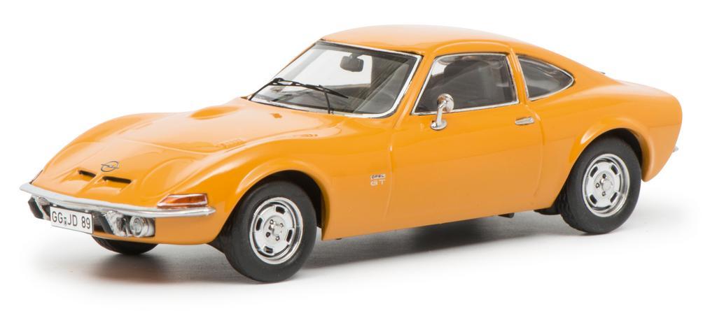 Opel GT, orange