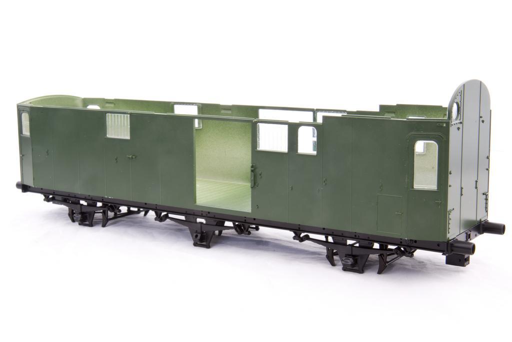 Preußischer Gepäckwagen
