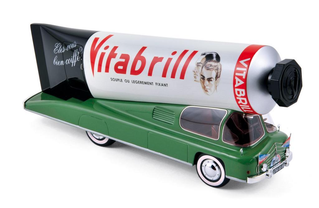 Vitabril Werbefahrzeug