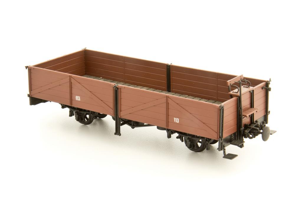 Weinert Flachwagen mit Magic Train Fahrwerk