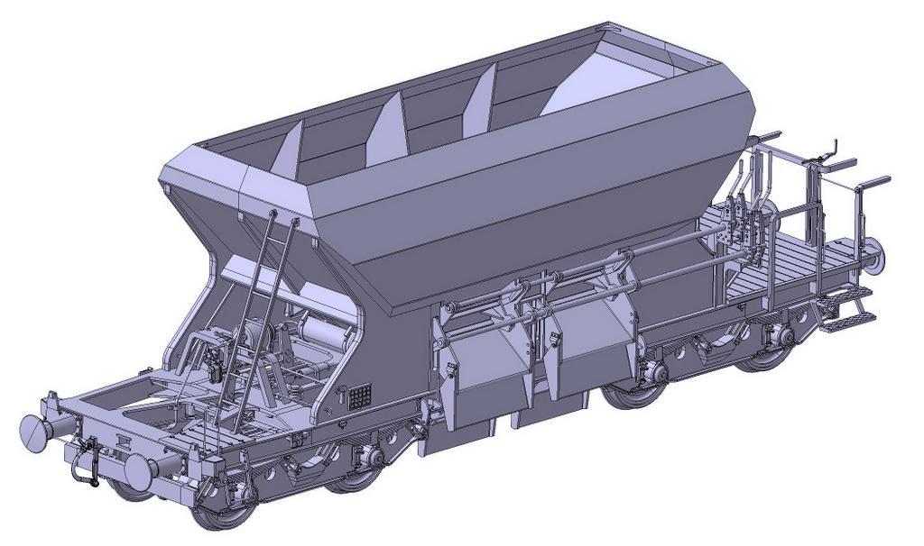 Schotterwagen 266