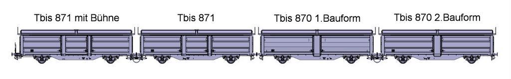 Tbis 870 und 871 Varianten
