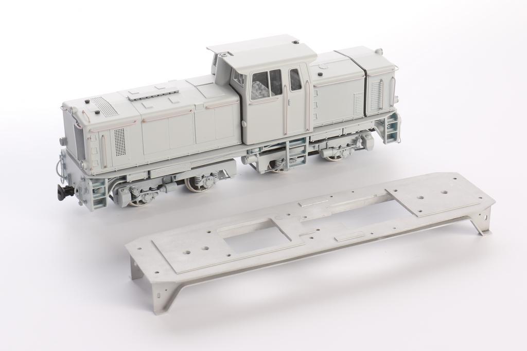 V51 Bauteile aus 3D Druck und gefrästem Aluminium