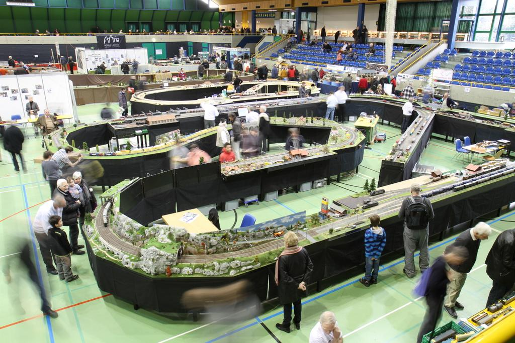 Spur-0-Expo in Olten 2007 bis 2017