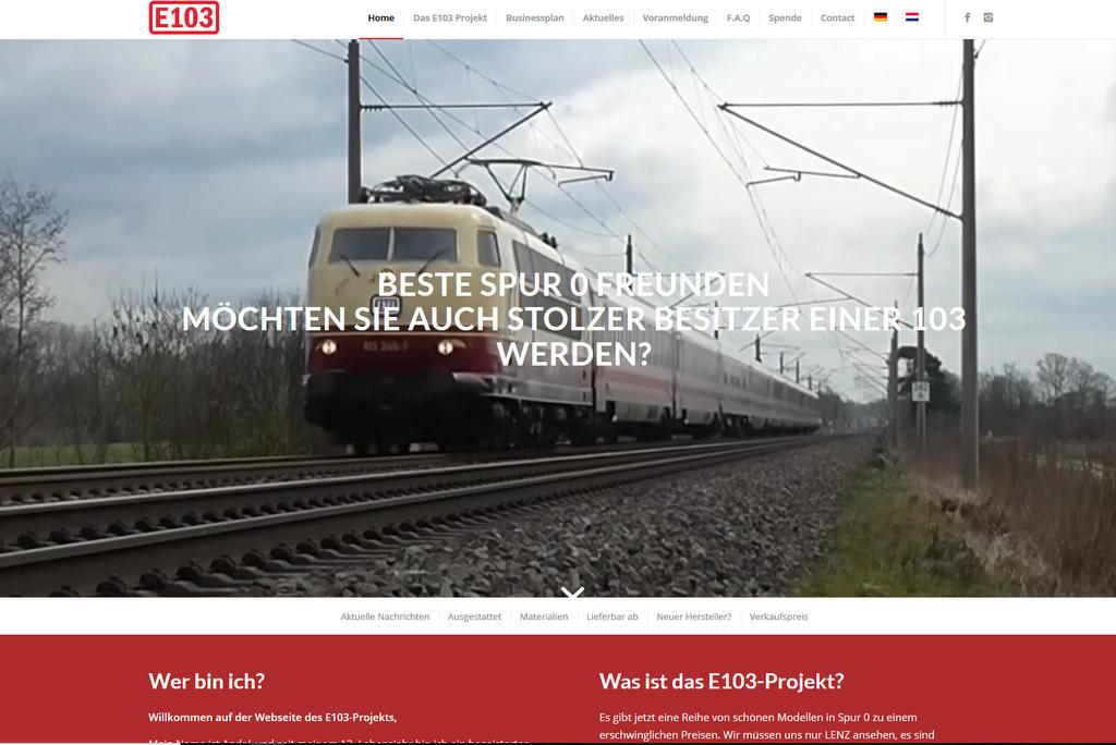 Das E03 Projekt