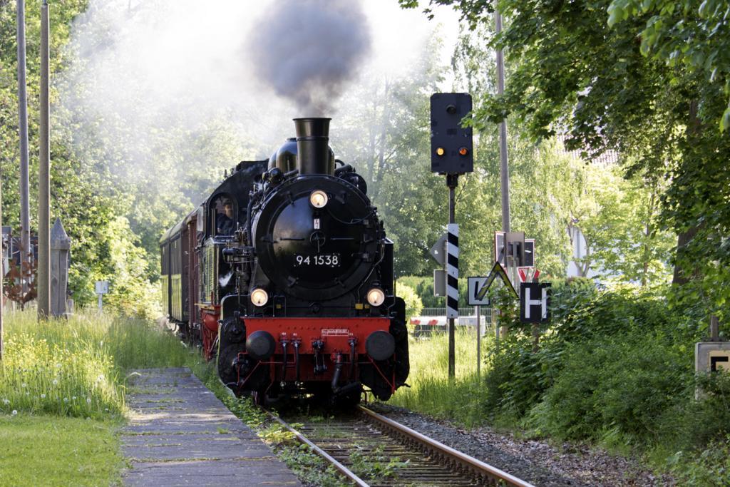 Sound für die BR 94 auf der Rennsteigbahn