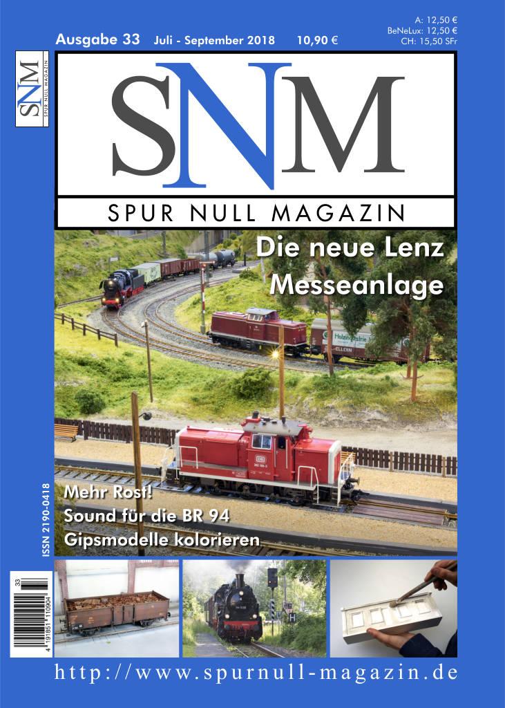 Spur Null Magazin Heft 33