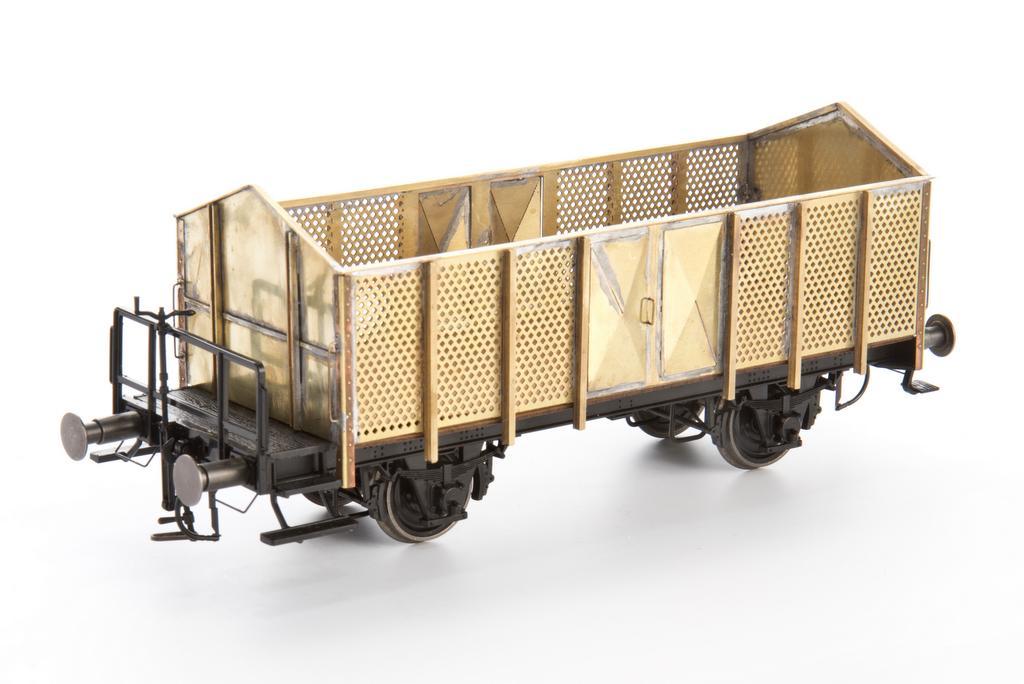 0 Scale: Knochenwagen Bausatz aus Messingätzteilen