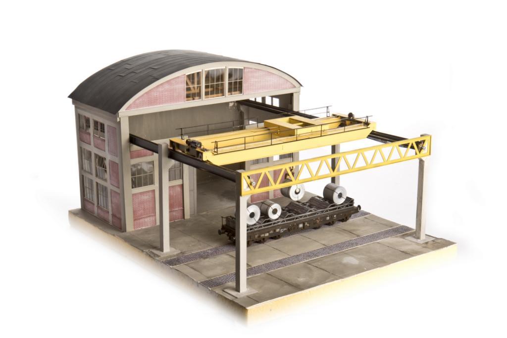 Halle mit Kranbahn von Jaffa Modellbau