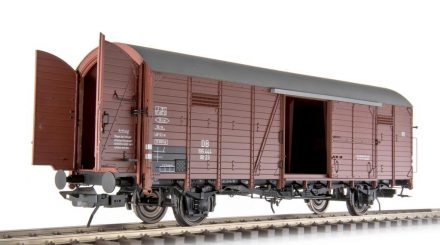 Güterwagen Glt 23 mit zu öffnenden Stirnklappen