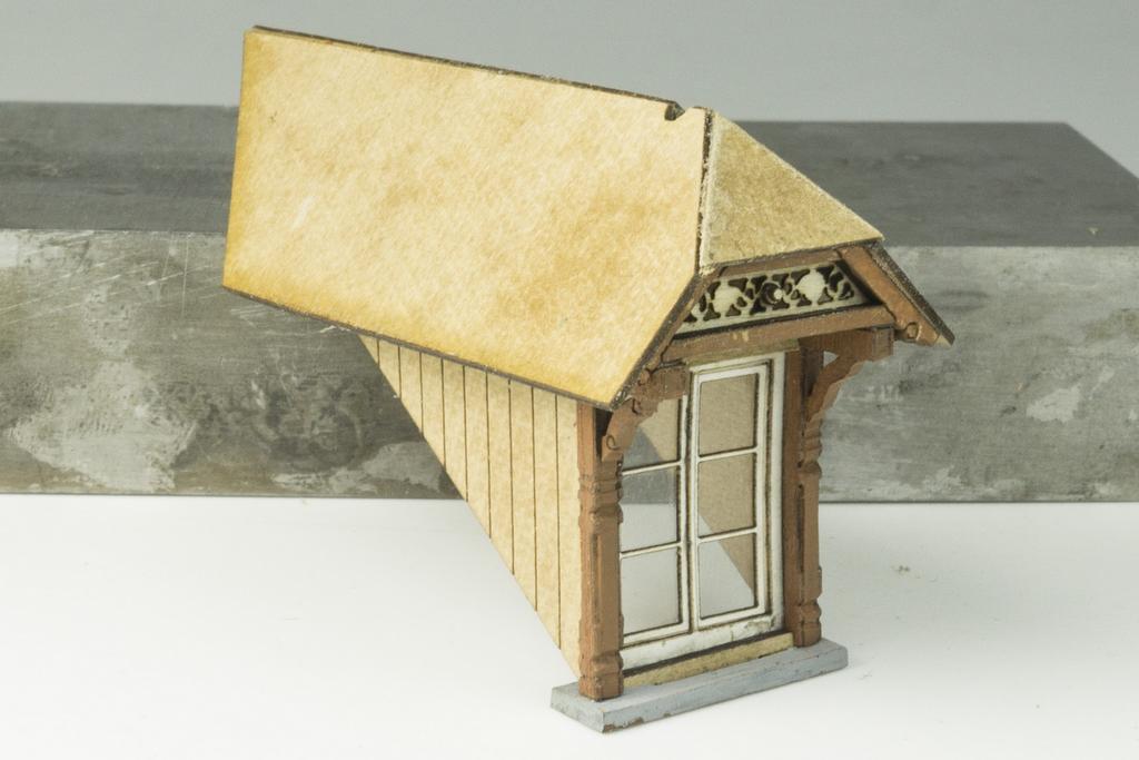 Jaffa Dachgaube Rohbau