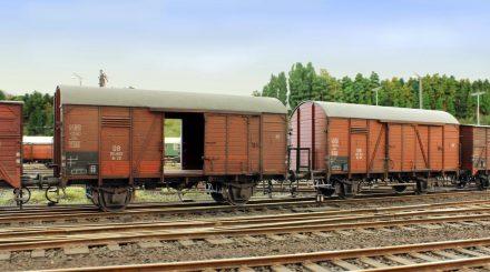 Güterwagen auf der Höhe der Zeit