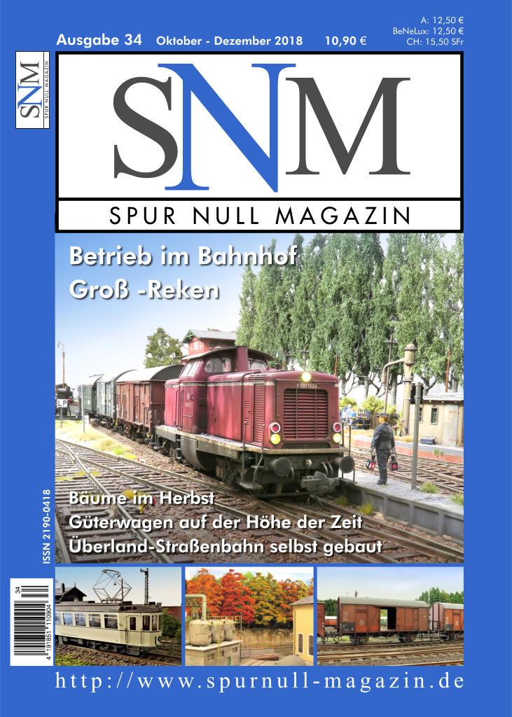 Spur Null Magazin Heft 34