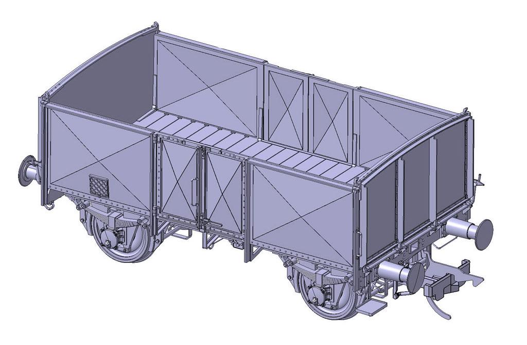 Kohlenwagen O11
