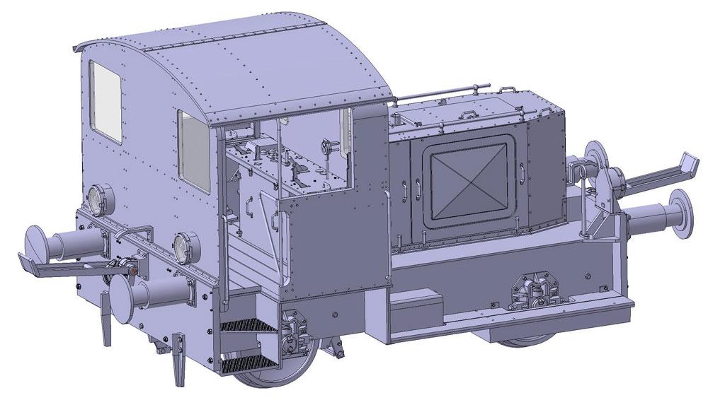 Kö1 Konstruktionszeichnung