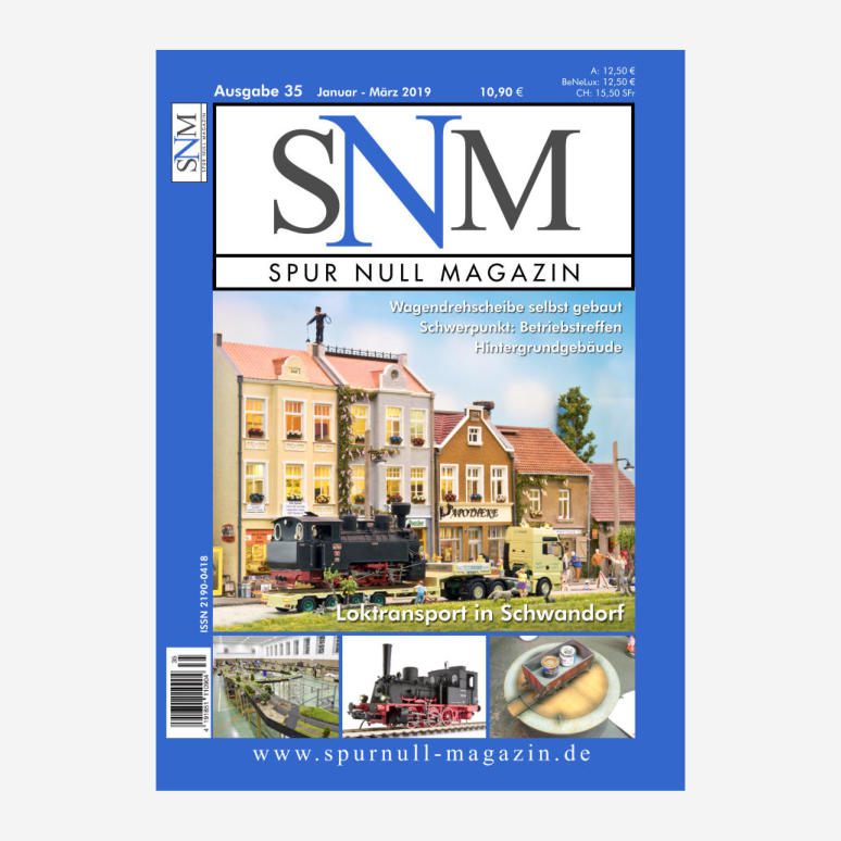 Spur Null Magazin Heft 35
