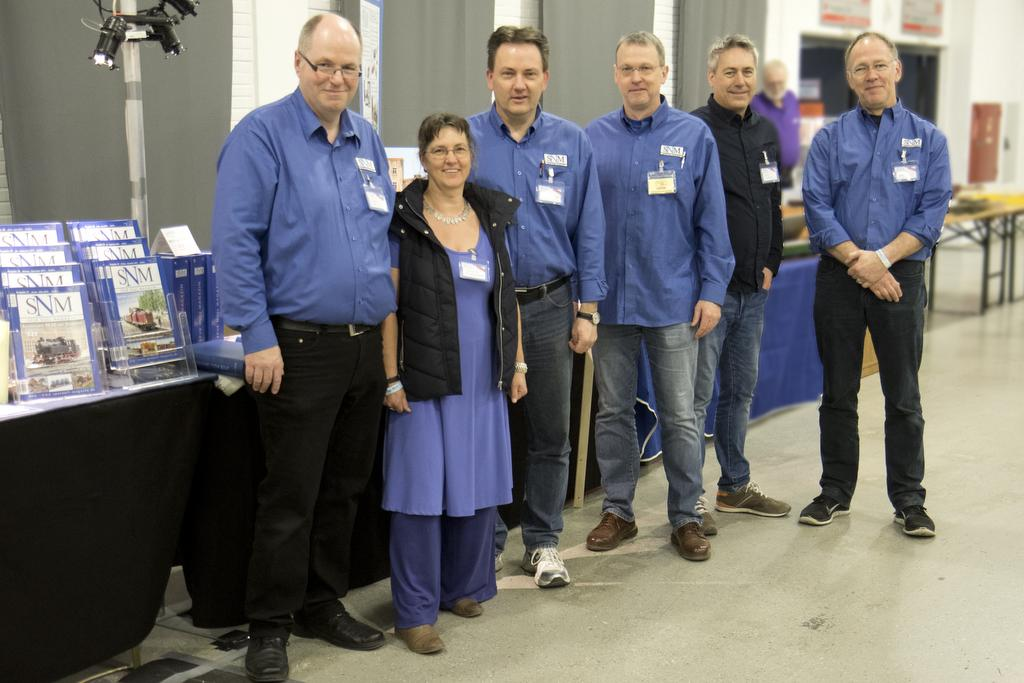 Das Team des SNM: Thomas, Christine, Kai, Stefan, Jens, Axel