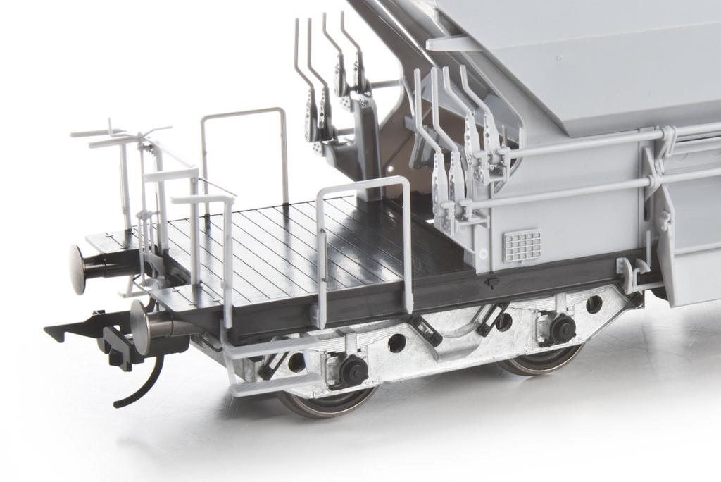 Schotterwagen DGW 266 Detail