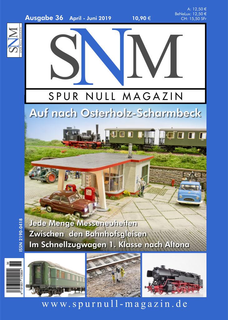 Spur Null Magazin Heft 36