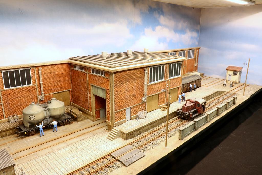 Waller Zuckerfabrik Diorama