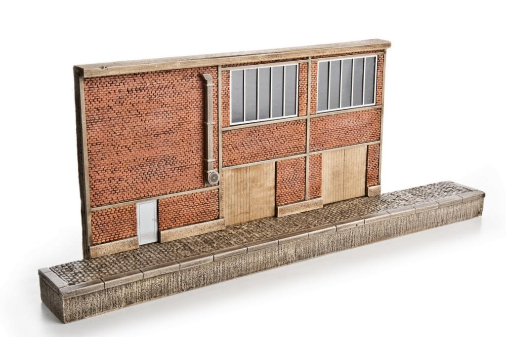 Waller Zuckerfabrik mit Laderampe