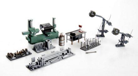 Real Werkbank und Material