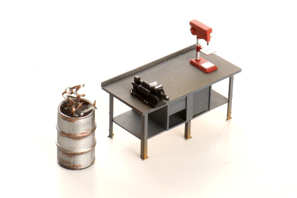 Werkstattausstattung, Prellbock, Signalspanner von Real Modell