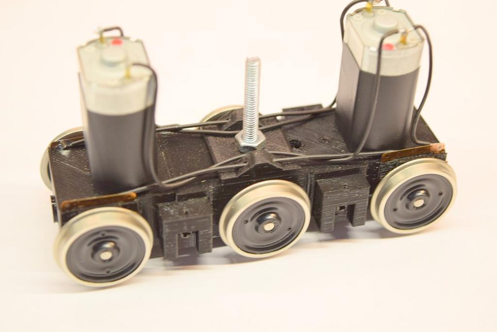 BR 119 Drehgestell mit Motoren
