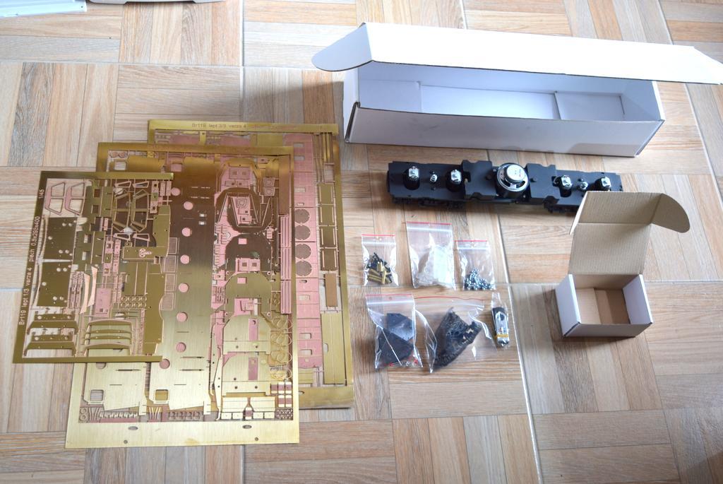 BR 119 Bausatz Lieferumfang