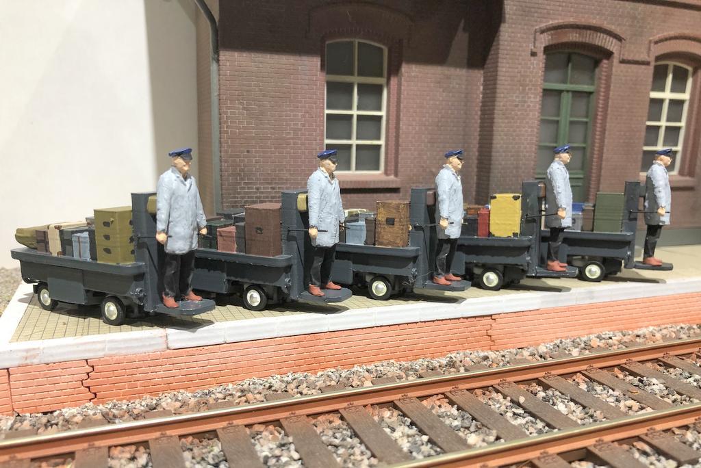 Bahnsteigkarre des MEC Niederrhein