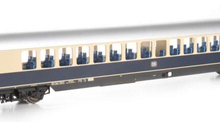 Kiss Rheingoldwagen kobaltblau - erstes Muster