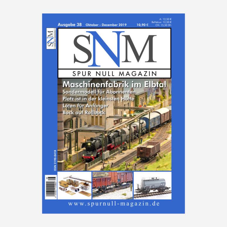 Inhaltsverzeichnis SNM Heft 38 als PDF (0,5 MB)