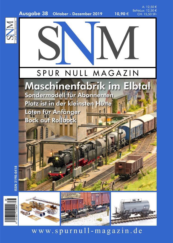 Spur Null Magazin Heft 38