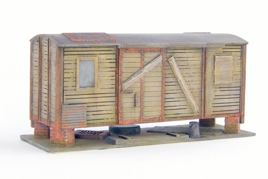 Nebengebäude Güterwagen