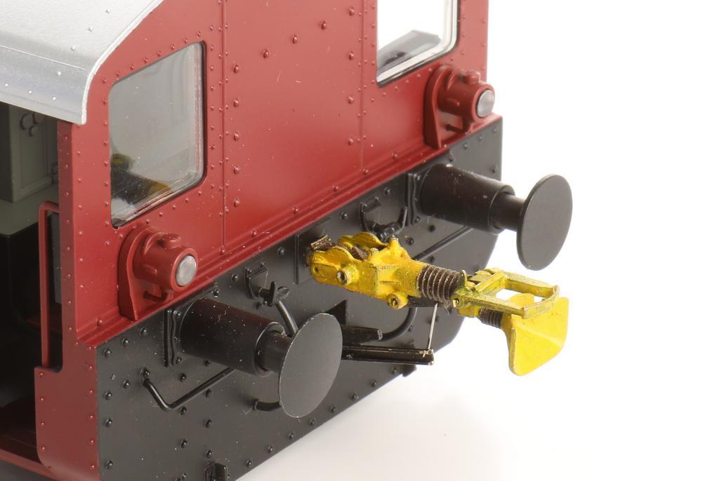Funktionsfähige Rangierkupplung für die Schraubenkupplung für die Lenz Köf