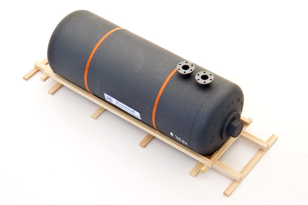 Bauer Wasserstofftank