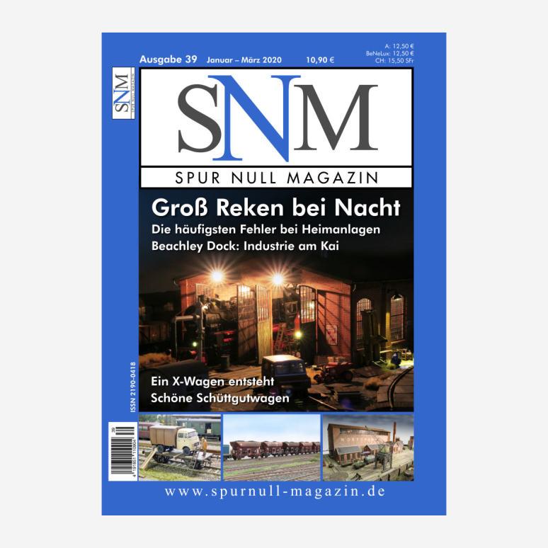 Inhaltsverzeichnis SNM Heft 39 als PDF (0,5 MB)